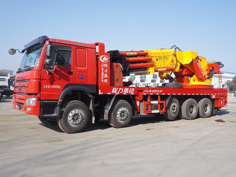 90吨汽车起重机